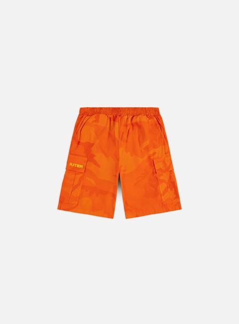 Outlet e Saldi Pantaloncini Iuter Jogger Cargo Camo Shorts