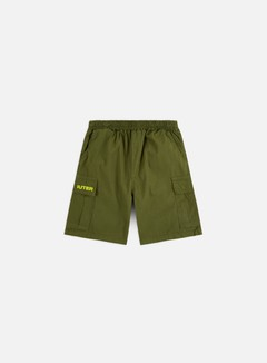 Iuter - Jogger Cargo Shorts, Army/Yellow