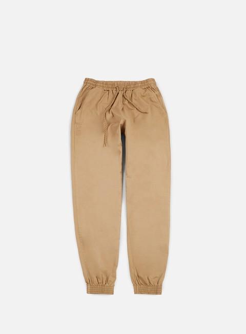 pantaloni iuter jogger pant sand