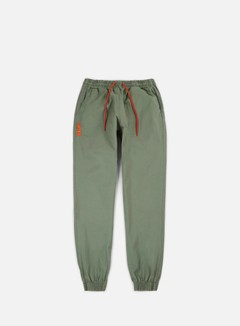 Iuter - Jogger Pants, Army/Orange