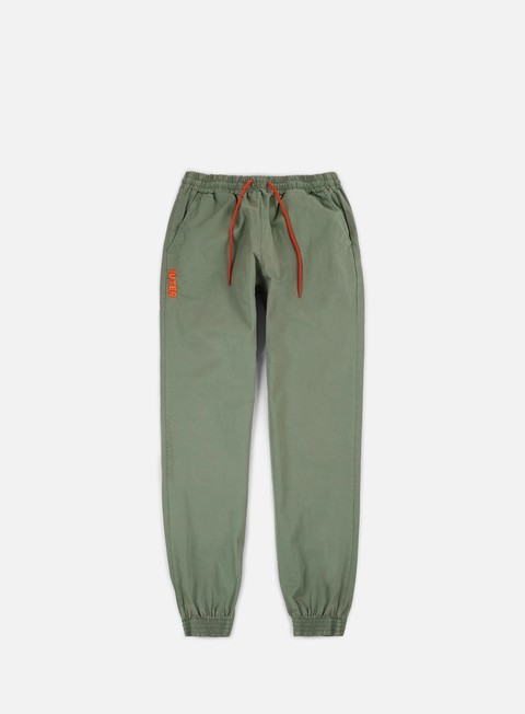 pantaloni iuter jogger pants army orange