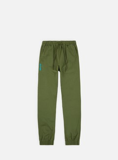 Iuter - Jogger Pants, Army/Turquoise