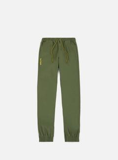Iuter - Jogger Pants, Army/Yellow