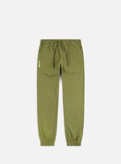 Iuter - Jogger Pants, Army/Yellow Fluo