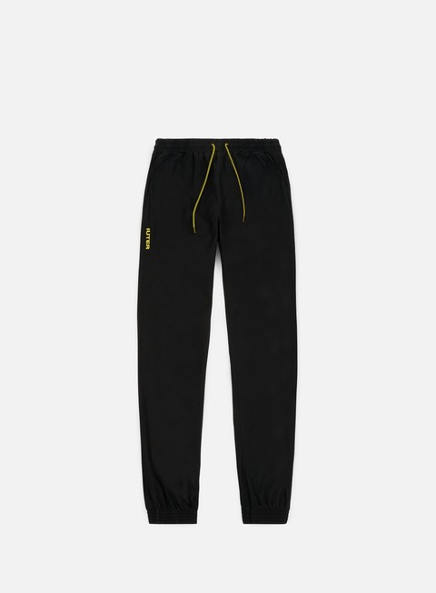 pantaloni iuter jogger pants black yellow