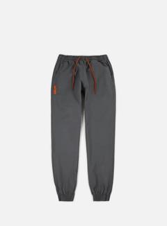 Iuter - Jogger Pants, Dark Grey/Orange