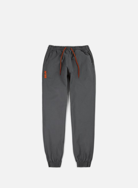 pantaloni iuter jogger pants dark grey orange