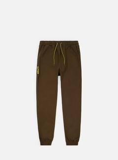 Iuter - Jogger Pants, Tobacco/Yellow