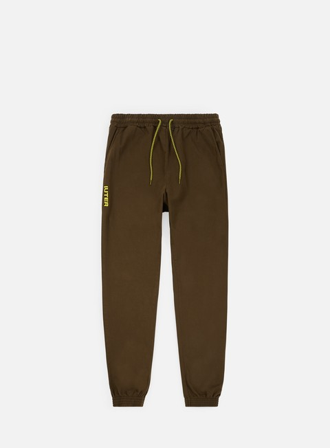 pantaloni iuter jogger pants tobacco yellow