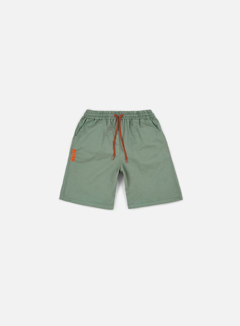 pantaloni iuter jogger shorts army orange