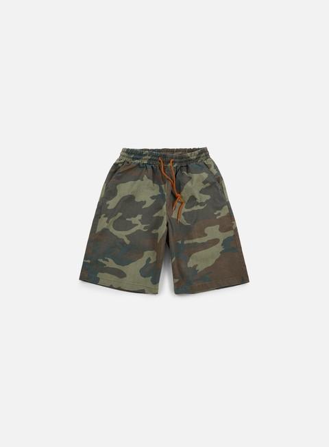pantaloni iuter jogger shorts camo