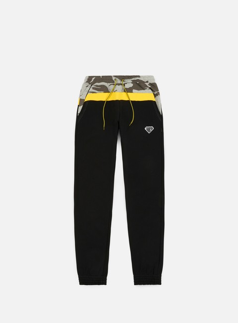 pantaloni iuter locut dpm sweatpants black grey