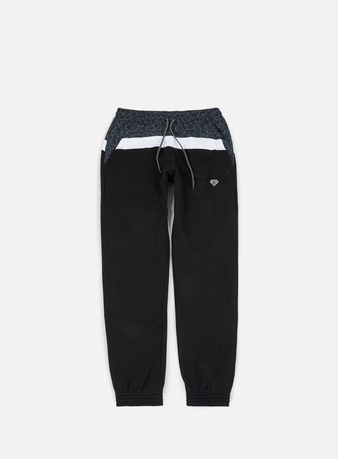 pantaloni iuter locut multilogo sweatpants black