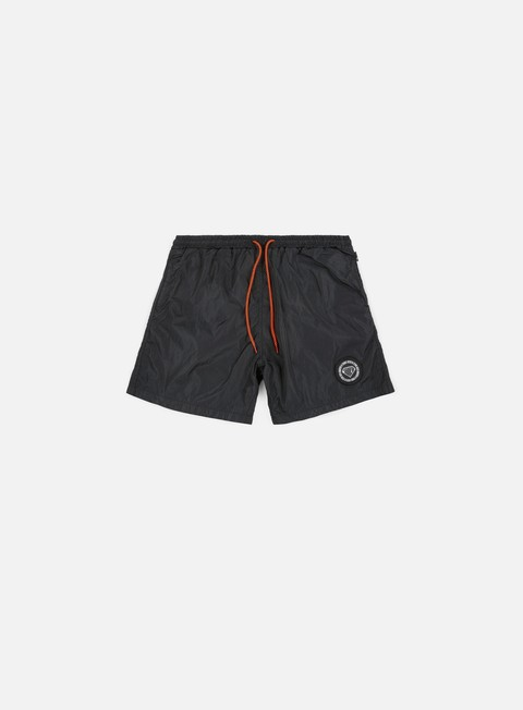 pantaloni iuter logo swim trunk black striped strings