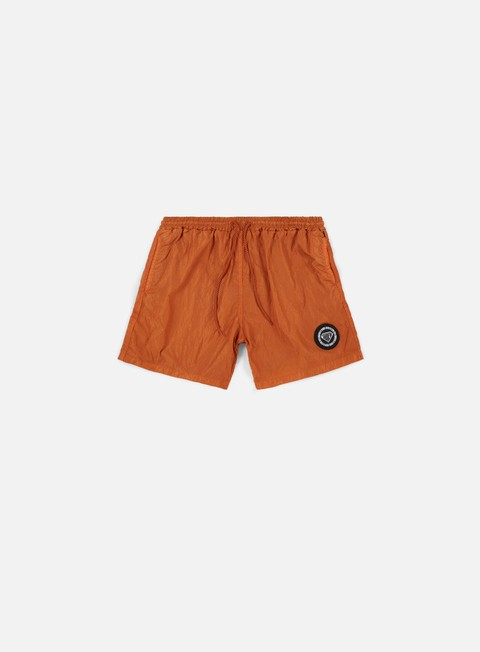 pantaloni iuter logo swim trunk orange striped strings