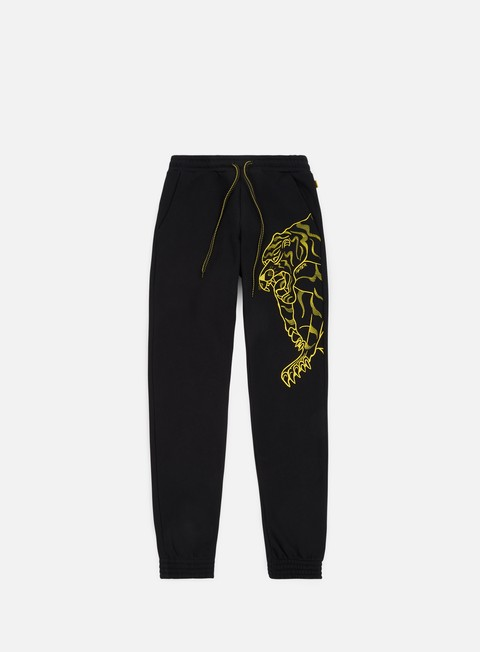 pantaloni iuter nepal pants black yellow