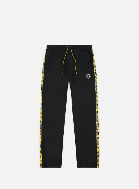 pantaloni iuter ribbon track pants black