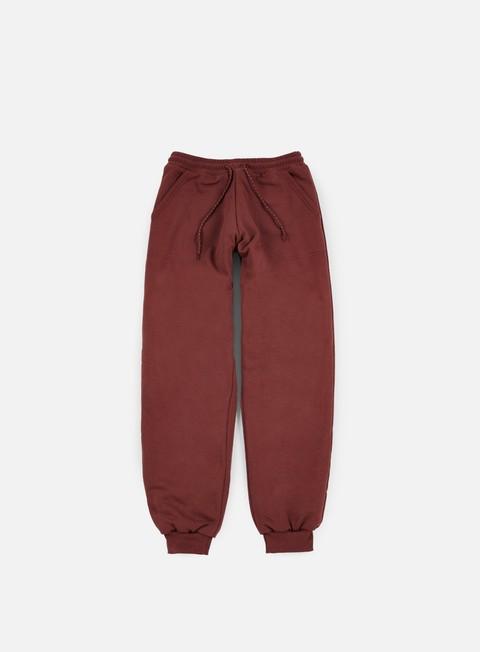 pantaloni iuter teddybear minilogo pants bordeaux