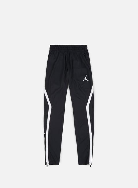 pantaloni jordan 23 drifit alpha pant black white