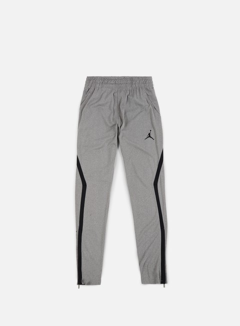 pantaloni jordan 23 drifit alpha pant carbon heather black