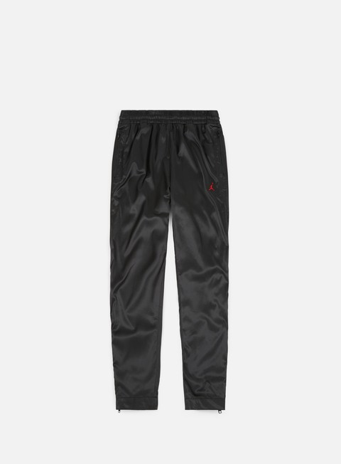 pantaloni jordan aj 5 satin pant black gym red