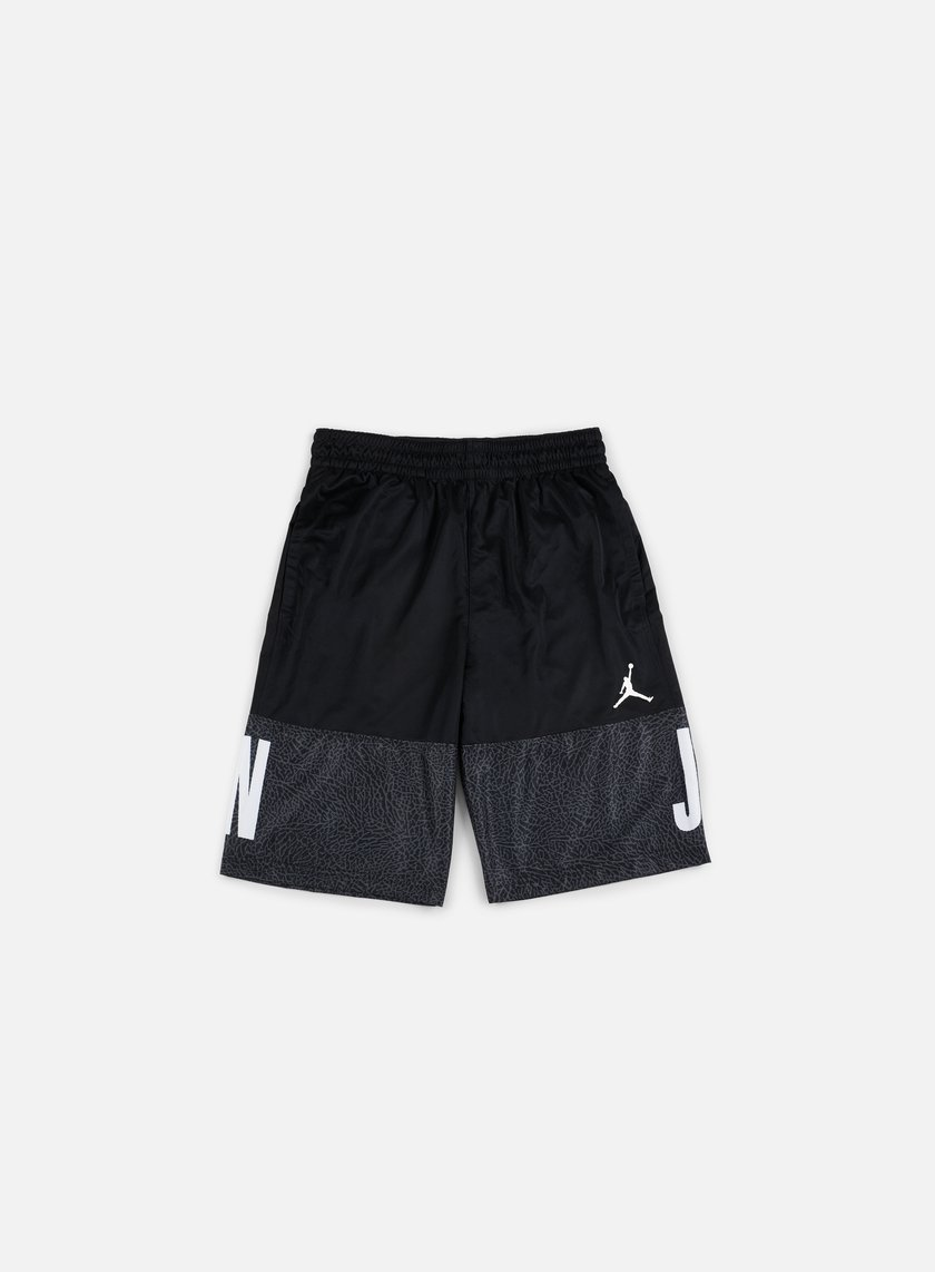 Jordan - AJ Blackout Short, Black/White