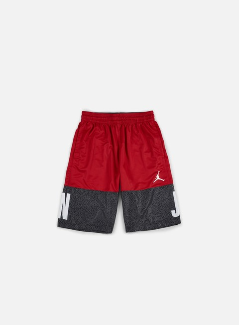 pantaloni jordan aj blackout short gym red white