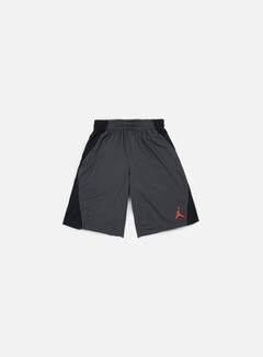 Jordan - Basketball Flight Short, Anthracite/Gamma Orange