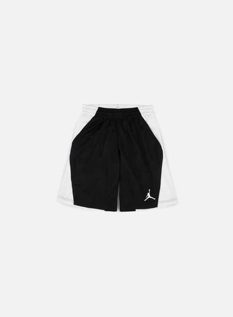 pantaloni jordan basketball flight short black white