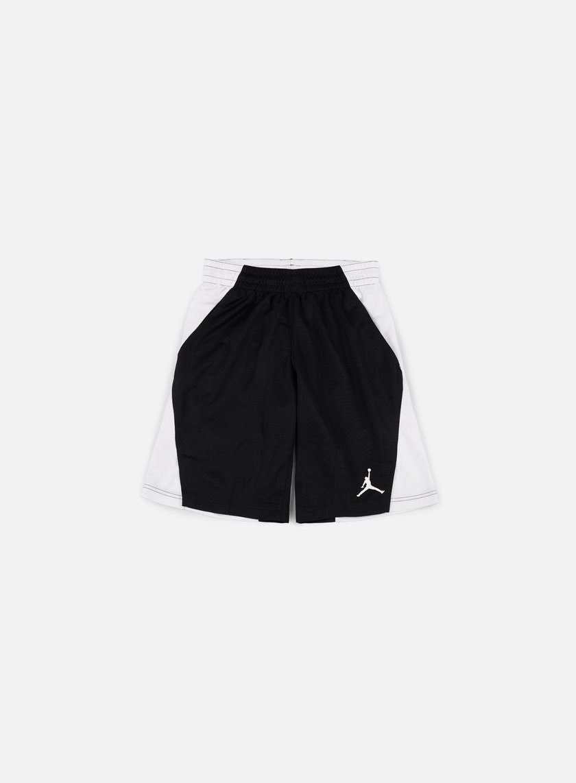 Jordan - Basketball Flight Short, Black/White