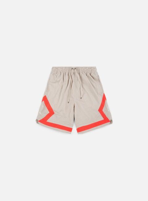 pantaloni jordan diamond mesh short desert sand infrared23 desert sand