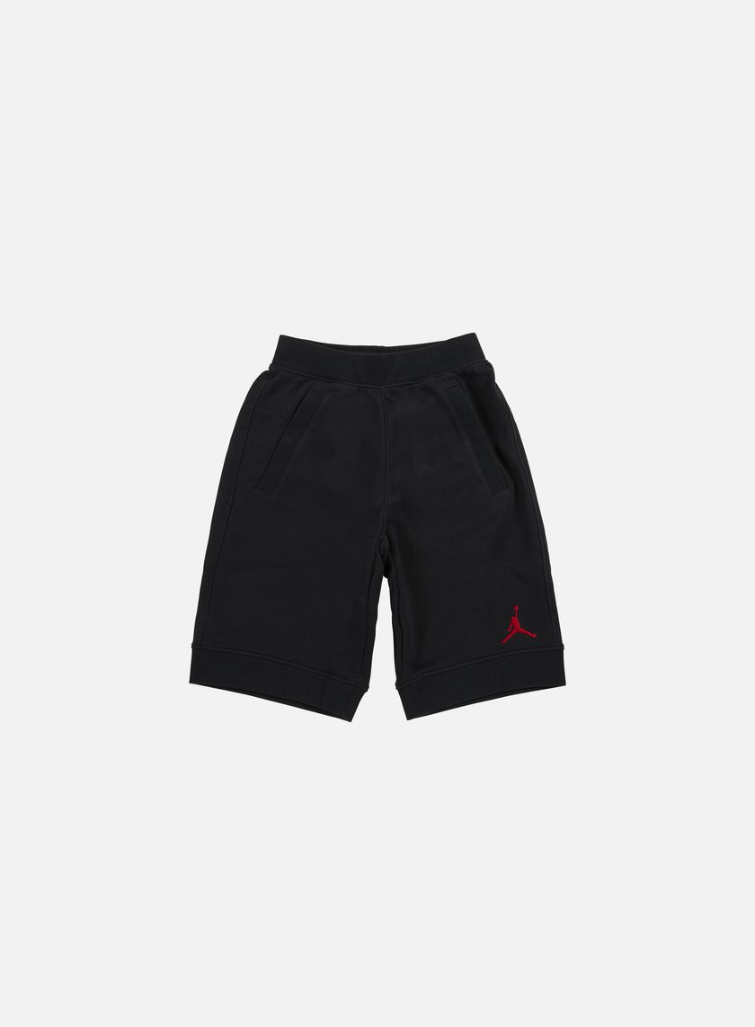 Jordan - Fleece Short, Black/Gym Red