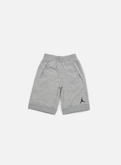 Jordan - Fleece Short, Dark Grey Heather/Black 1