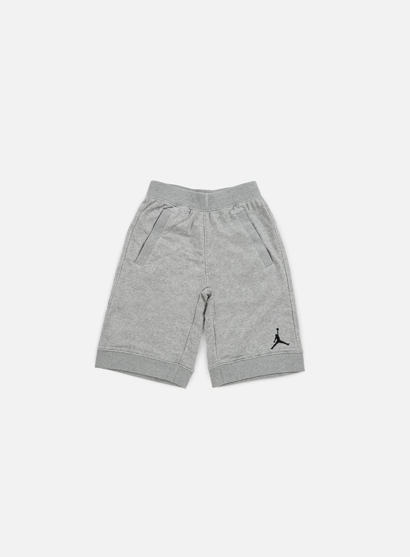 Jordan - Fleece Short, Dark Grey Heather/Black