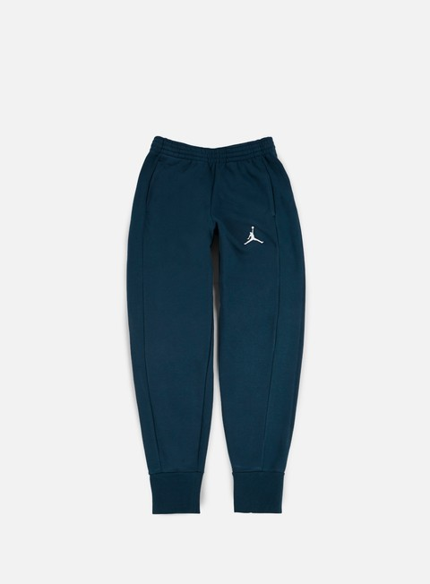 pantaloni jordan flight fleece pant armory navy white