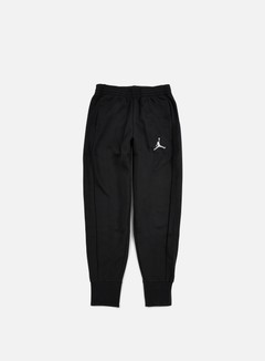 Jordan - Flight Fleece Pant, Black/White 1