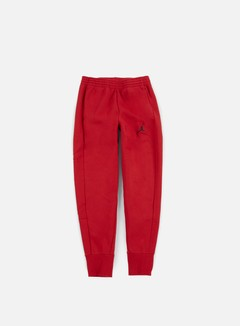Jordan - Flight Fleece Pant, Gym Red/Black 1
