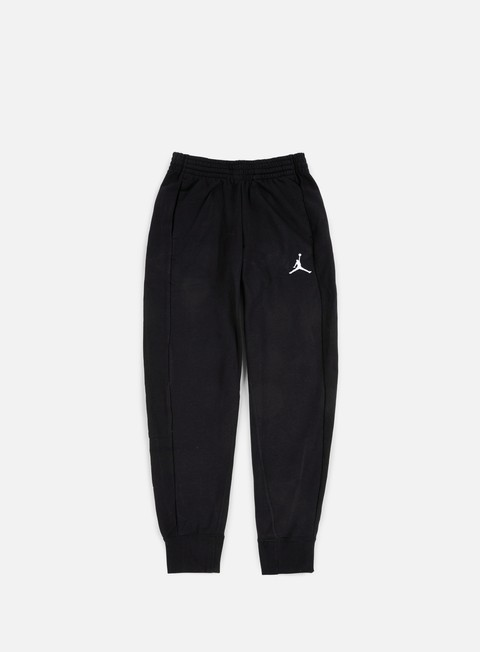 pantaloni jordan flight lite pant black white