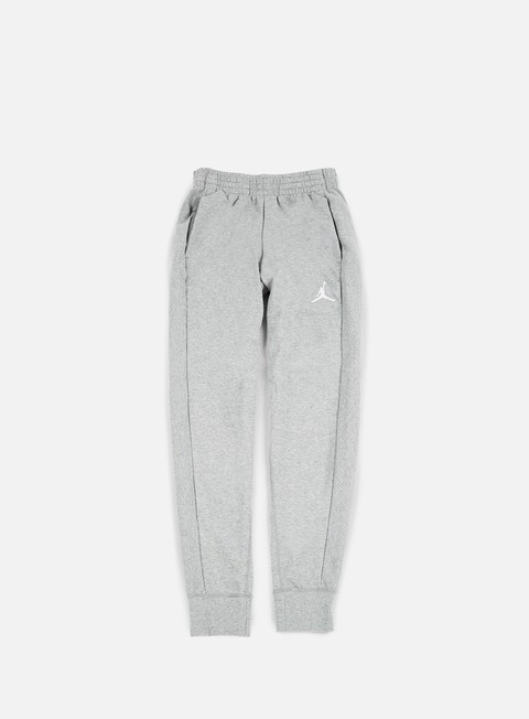 pantaloni jordan flight lite pant dark grey heather white