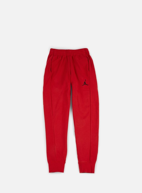 pantaloni jordan flight lite pant gym red black