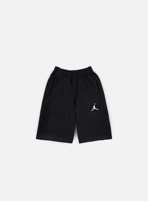 pantaloni jordan flight lite short black white