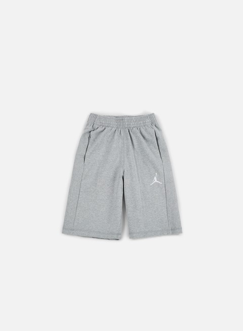 pantaloni jordan flight lite short dark grey heather white