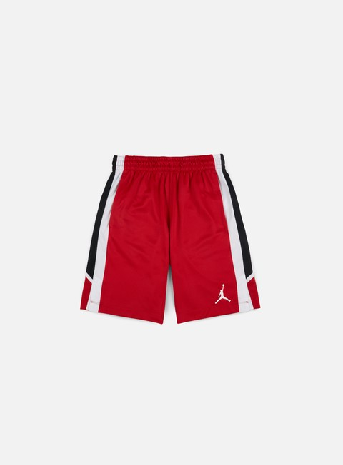 pantaloni jordan flight short gym red white