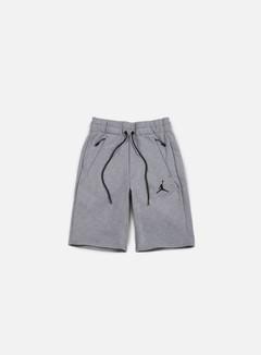 Jordan - Icon Fleece Short, Cool Grey/Black 1