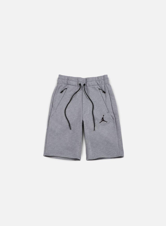Jordan - Icon Fleece Short, Cool Grey/Black