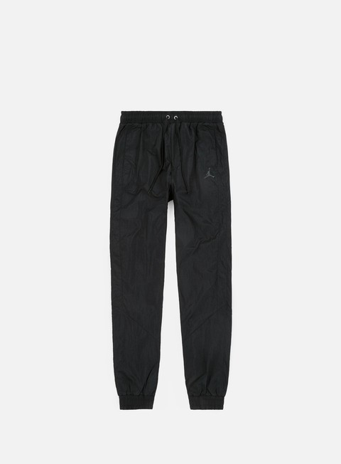 pantaloni jordan jsw diamond track pant black black dark smoke grey