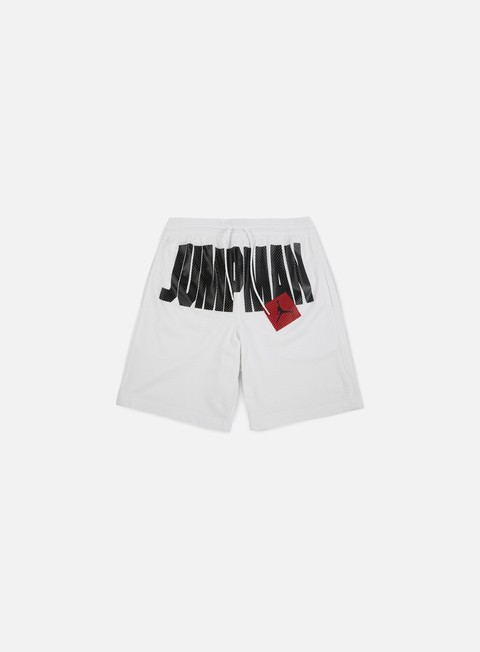 pantaloni jordan jumpman air short white