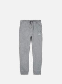 Jordan - Jumpman Fleece Pant, Carbon Heather/White