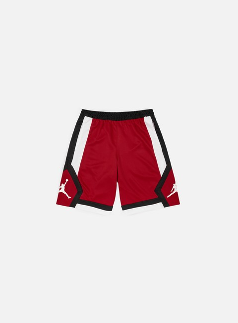 pantaloni jordan rise 1 short gym red white