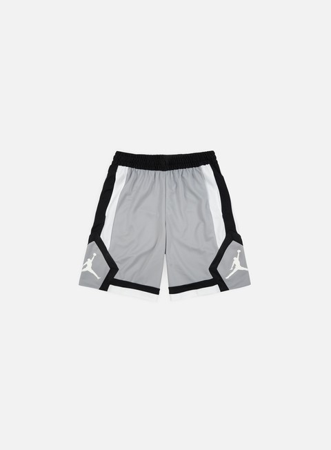 pantaloni jordan rise 1 short light smoke grey white white
